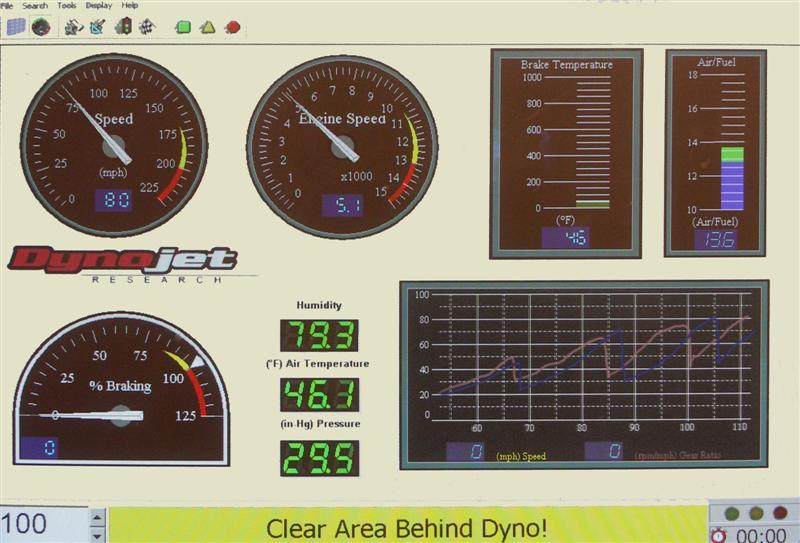 Fuel mapping and calibration on our Dyno rolling road